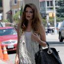 Mischa Barton Leaving Kaufman Studios In Astoria - July 30 2009
