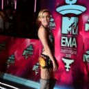 Miley Cyrus attends the MTV EMA's 2013 at the Ziggo Dome on November 10, 2013 in Amsterdam, Netherlands