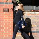 Abbey Clancy Heads To The Gym In London
