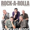 Billy Gould, Jon Hudson, Mike Bordin, Mike Patton, Roddy Bottum - Rock-A-Rolla Magazine Cover [United Kingdom] (June 2015)