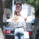 Hilary Duff with her boyfriend Ely Sandvik in LA - 454 x 682