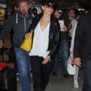 Sophie Marceau Arriving At Airport In Nice