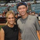 Scotty McCreery participated in the City of Hope Celebrity Softball Challenge today, June 9, at Greer Stadium in Nashville - 451 x 594