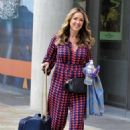 Claire Sweeney – Leaving BBC Breakfast Studios in Manchester - 454 x 645