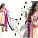 Zarine Khan In Anarkali New Photo Shoot For A New Collection Of 2013 - 454 x 287