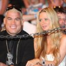 Jenna Jameson And Tito Ortiz In The Audience At The Ultimate Fighter 7 MMA Finals In Las Vegas 2008-06-21 - 454 x 336