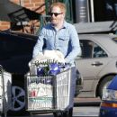 Tyler Ferguson does some solo grocery shopping at Whole Foods in West Hollywood, Calfiornia on January 5, 2015 - 454 x 594