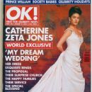 Catherine Zeta-Jones - OK! Magazine Cover [United Kingdom] (21 January 2000)
