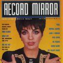 Liza Minnelli - Record Mirror Magazine Cover [United Kingdom] (10 March 1990)