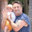 Daniel Baldwin and His baby Avis Anna Baldwin