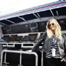 Bar Refaeli Williams Martini F1 During 2015 Formula 1 Russian Grand Prix At Sochi Autodrom