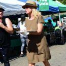 Jessica Collins at the Farmer's Market in Studio City - 454 x 661