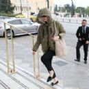 Emma Stone – Arriving at Athens International Airport in Athens
