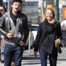 Sebastian Stan and Jennifer Morrison