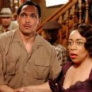 Jimmy Smits as 'Ruben Santiago Sr.' and S. Epatha Merkerson as 'Rachel 'Nanny' Crosby' in Lackawanna Blues