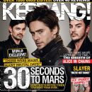 Jared Leto - Kerrang Magazine Cover [United Kingdom] (3 October 2009)