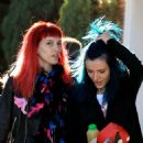 Bella Thorne – Exiting a Hair Salon Make Up Free With Sister Dani Thorne, Los Angeles 1/16/ 2017 - 454 x 454
