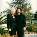 Yanni and Linda Evans - 454 x 673