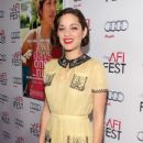 "Marion Cotillard : ""Two Days, One Night"" -  AFI FEST 2014"