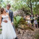 Rebecca Breeds and Luke Mitchell's Wedding - 454 x 302