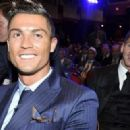 Lionel Messi photobombing Cristiano Ronaldo perfectly sums up their entire relationship