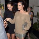 Cheryl Cole leaving Scott's restaurant in Mayfair, London (August 11)