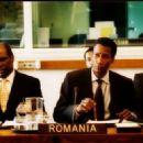 Lou Ferguson as Matoban Ambassador and Michael Wright as Matoban delegate Marcus in The Interpreter 2005 - 454 x 323