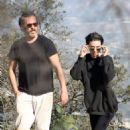 Rooney Mara and Joaquin Phoenix Out on a hike in Los Angeles - 454 x 681