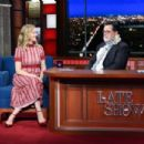 Judy Greer – Visits The Late Show With Stephen Colbert in NY - 454 x 303