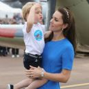 The Duke & Duchess of Cambridge Visit the Royal International Air Tattoo - 454 x 578