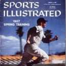 Mickey Mantle - Sports Illustrated Magazine Cover [United States] (4 March 1957)