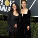 America Ferrera and Natalie Portman – 2018 Golden Globe Awards in Beverly Hills
