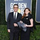 Fred Armisen and Natasha Lyonne At The 77th Annual Golden Globes Awards (2020)