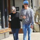 Selma Blair – Out for McConnell's Ice Cream in Studio City