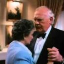 Joss Ackland and Jean Simmons