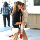 Selma Blair spotted taking her son to see the new movie 'Baby Boss' at the theater at The Grove in Los Angeles,  California March 30th, 2017 - 426 x 600