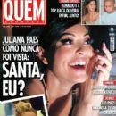 Juliana Paes, Adriane Galisteu, Glória Pires, Cléo Pires, Ronaldo, Raica Oliveira - Quem Magazine Cover [Brazil] (14 October 2005)