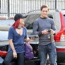 Sharna Burgess at DWTS Studio in Los Angeles