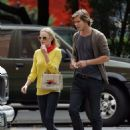 Kate Bosworth and James Rousseau stroll in West Village, NYC 2007-09-13 - 454 x 632