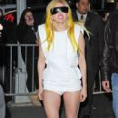 Lady GaGa out greeting her fans in NYC (January 21)