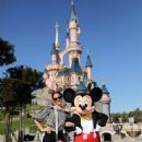 Bruna Marquezine and Neymar at Disneyland in Paris