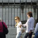 Richie Sambora & Denise Richards in Paris - 392 x 594