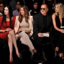 L'Wren Scott attend the Project Runway Spring 2012 fashion show during Mercedes-Benz Fashion Week at The Theater at Lincoln Center on September 9, 2011 in New York City