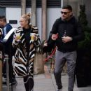 Ashley Roberts – Leaving her hotel in Birmingham - 454 x 569