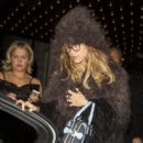 It's Suki Waterhouse leaving The Edition Hotel after the Victoria's Secret Fashion Show at Earl's Court in London
