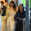 Angelina Jolie Shopping With Daughters In Los Angeles  (September 04, 2019) - 454 x 470