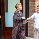 Kate Hudson in Long Dress – Leaves Her Hotel in New York - 454 x 682