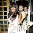 Alexandra Burke at The Ivy