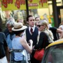 Kirsten Dunst - On The Set Of All Good Things With Ryan Gosling , 2008-06-25