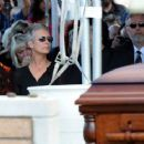 Tony Curtis Laid To Rest